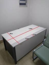 Título do anúncio: Mesa de escritório - muito, muito forte e e pesada !!!!!