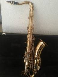 Sax Tenor Weril spectra 4 Banhado a ouro