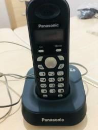 Título do anúncio: Telefone sem fio panasonic com identificador