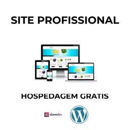 Site Profissional + Hospedagem Grátis