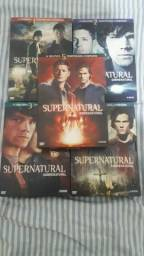 Título do anúncio: BOX SUPERNATURAL 1° a 5° temporada COMPLETO (ORIGINAL)