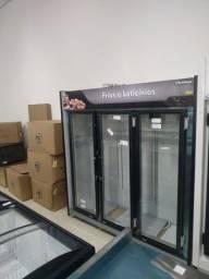 Título do anúncio: Expositor 3 portas frios e lacticínios Refrimate JM Equipamentos Paulo