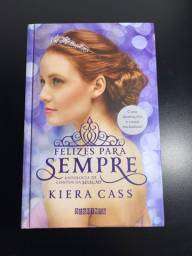 Livro Felizes para sempre (capa dura) antologia de contos da seleção - Kiera Cass