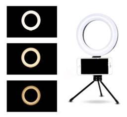 Título do anúncio: RING LIGHT 16 LED + SUPORTE CELULAR