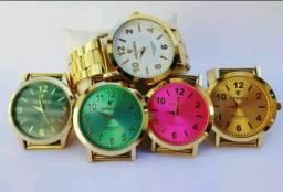 Relógio femininos oriente a prova d'água-entrega grátis