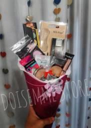 Presente Buquê De Maquiagem Criativo Make