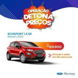 Ford Ecosport SE 1.5 MT - 2020 - 0KM - Tx zero em até 36X- * Polyanne - 2019