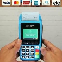 Máquina de cartão pronta entrega DF e entorno
