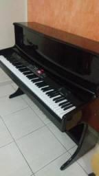 Piano Digital Harmonia Hs Moderno Preto