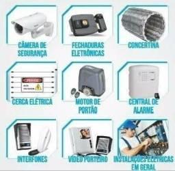 Manutenção de portão eletrônico, interfone, fechaduras, alarme,etc