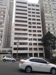 Apartamento com 3 dormitórios para alugar, 187 m² por r$ 3.000/mês - centro - curitiba/pr