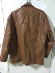Jaqueta em couro legítimo ?M?