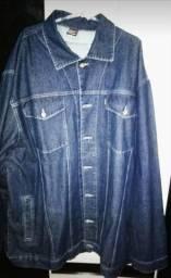 Jaqueta jeans xg para pessoas com 145 kgs