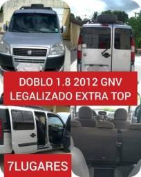 Doblo 1.8 2012 GNV Legalizado - 2012