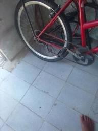 Bicicleta sem o banco leia