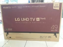 Smartv 49 LG nova na caixa, leia toda a descrição