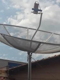 Antena parabolica + receptor