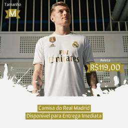 Camisa do Real Madrid 2019