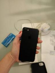 IPhone 7 32gb preto 1300,00