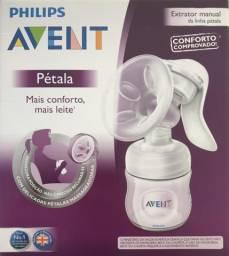 Extrator manual de leite materno Avent petala