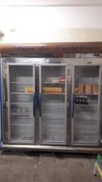 Vendo Refrigerador (Geladeira) auto serviço, 3 portas.