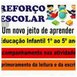 Aulas de reforço ensino fundamental I