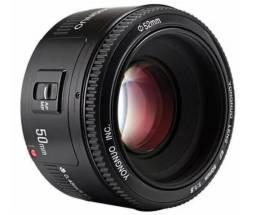 Lente Yongnuo 50mm F/1.8 Para Câmera Canon ou Nikon