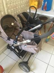 Carrinho de bebê e bebê conformo para auto Compass II