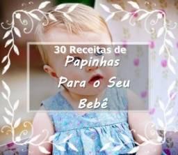 30 Receitas de Papinha de Bebê