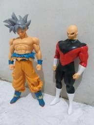 Bonecos Dragon Ball conjunto Goku e Jiren