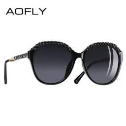 Aofly Óculos de sol Feminino lentes com proteção solar e polarizadas