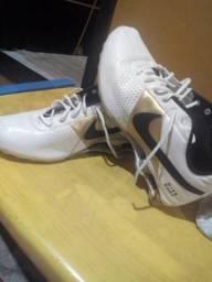 Nike Shox de couro Original