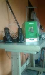 2 telefone sem fio da marca intelbras