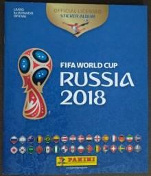 Álbum da Copa da Russia completo
