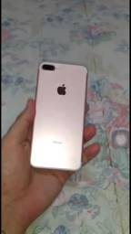 Iphone 7 plus ouro rosa