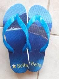 Compre chinelos personalizados direto da fábrica estrela Bella
