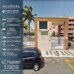 Apartamento com 3 dormitórios à venda, 65 m² por R$ 230.000 - Álvaro Weyne - Fortaleza/CE