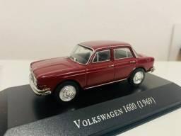 Miniatura Vw 1600 4 Portas 1969 1:43