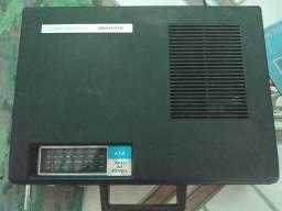 Vitrola three in one 717 silvano. +28 discos de vinil valor negociável!!!!