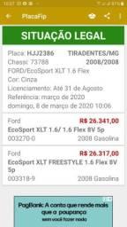 Troca Ecosport 2008 por carro mais novo