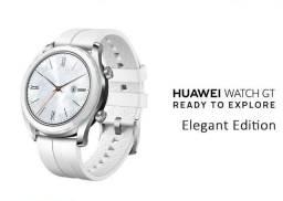 Smartwatch Huawei GT, Branco, NF + Garantia 1 ano, Lacrado, Zero, Ela-B19