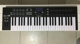 Teclado Controlador Arturia Keylab Midi 49 Teclas + Capa / Impecável