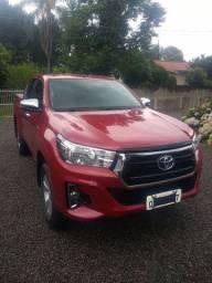 Toyota Hilux SR 2019/único dono