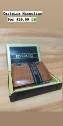 Promoção Carteira ED Couro