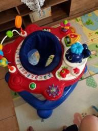 Centro de atividades Andador bebe 4 em 1 Galzerano