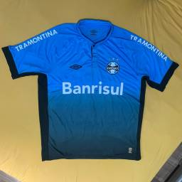 Camisa Oficial Umbro Grêmio III 2015 Cesleste Degradê