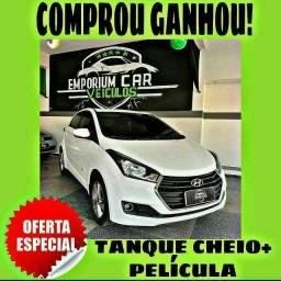 TANQUE CHEIO SO NA EMPORIUM CAR!!!! HYUNDAI HB20 1.0 ANO 2017 COM MIL DE ENTRADA