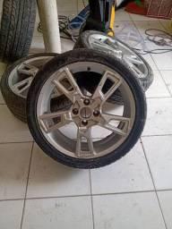 Jogo de Roda Aro17 Cm pneus.