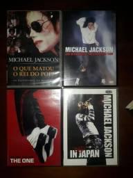 DVDs do Michael Jackson