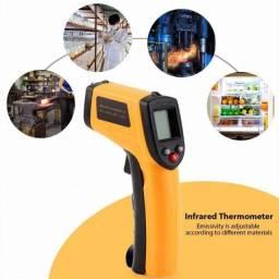 Título do anúncio: Termômetro industrial infravermelho com pistola de temperatura digital